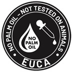 Euca is not tested on animals and does not contain palm oil